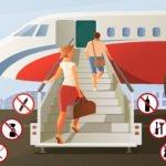Objetos prohibidos en equipaje de mano