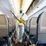 probabilidad de contagiarse de covid-19 en un avión