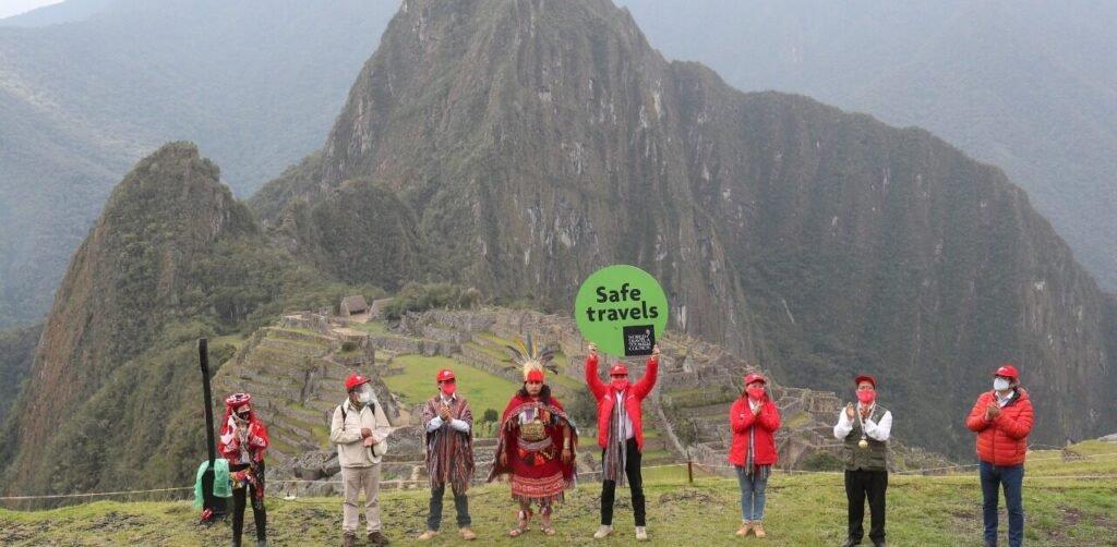 Safe Travel Sello en Peru