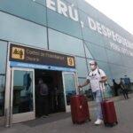 prueba de descarte de Covid-19 en aeropuerto jorge chavez
